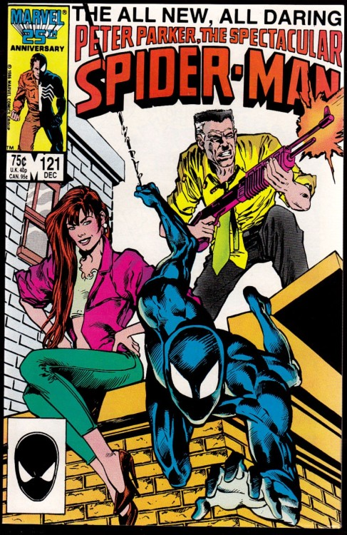 comicbookcollecting:  Spectacular Spider-Man Issue 121 … Marvel comics