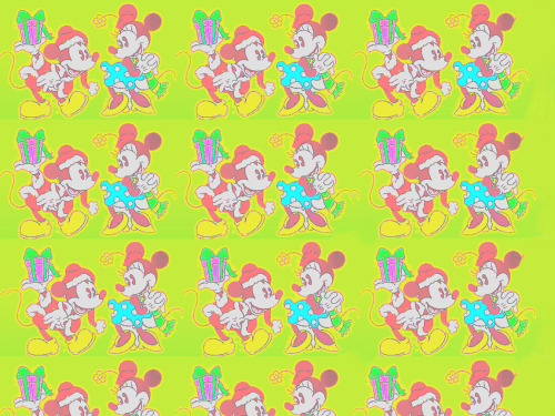 love-bree:  retro mickey and minnie mouse wallpaper