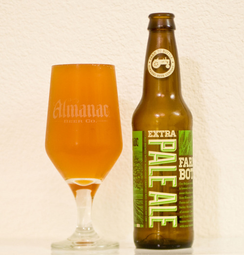 Almanac Beer Co. | Pale Ale Part of Almanac's newly released Table Beer series, a departure from it's iconic 750ml bottles to 12oz necks sold in 6pk handles. Well balanced and drinks with a round profile. This one goes down easy, a definite crowd pleaser.