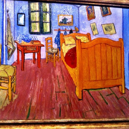 Love seeing old favorites at the Van Gough Museum in #Amsterdam. Tip: if yoy're looking for Starry Night it's in NYC #tburtm