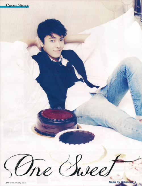 [2] Donghae for CeCi Thailand Magazine January 2013