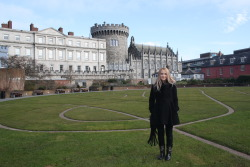 Me at The Dublin Castle :)