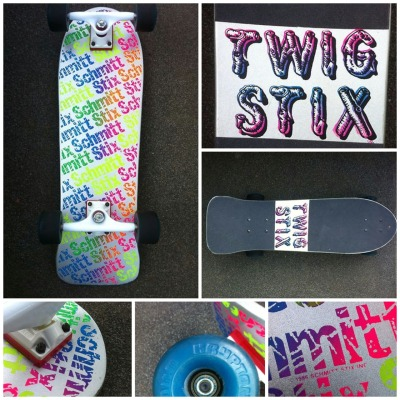 sk8face:  Deck of the Day | Schmitt Stix | Twig Stix