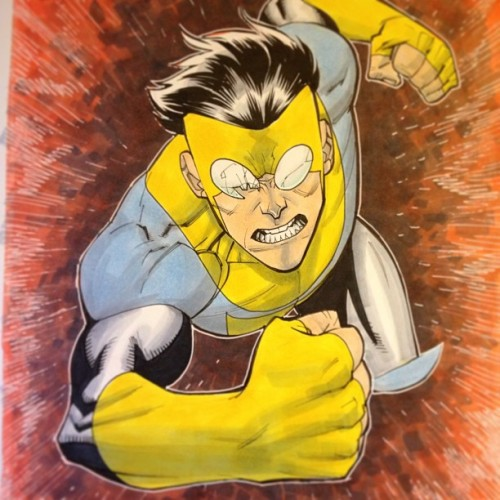 Another Invincible commission. He's gonna get ya! #ECCC