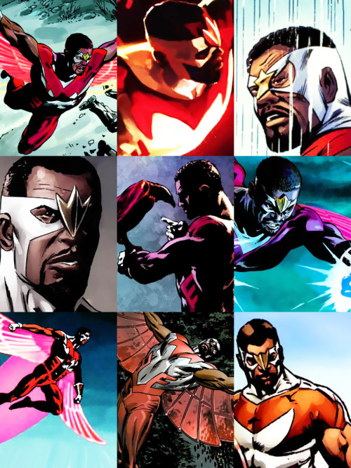 Falcon    Jackie's Endless List of Favorite Characters