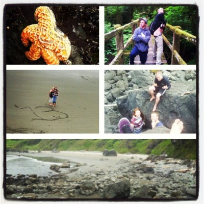My weekend was better than anyone's :) #coast #hiddenbeach #starfish #bestdayofmylife #BestFriends #mylove #memories