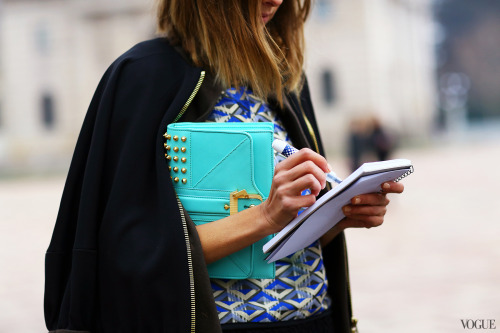 styleonstreet:  Photographed by Phil Oh source: vogue.com