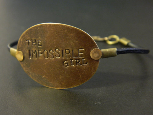 magicintheminuscule:  The Impossible Girl bracelet is back in stock!
