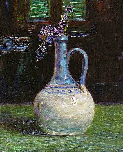 Gino Romiti Pot with Flower 1915