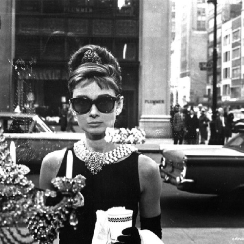 An Icon in my favourite film. Breakfast at Tiffany's