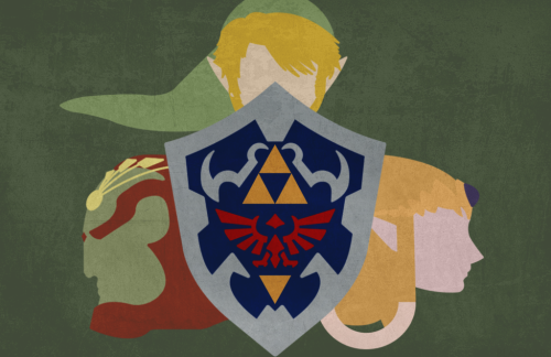theundeadavenger:  Legend of Zelda Wallpaper/Poster by ~Blacnarf