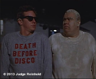 the origin of @Judgereinhold action wear - with the great John Candy.View more Judge Reinhold on WhoSay