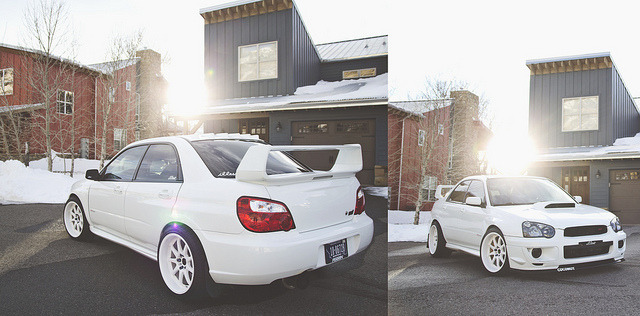 Matt's STi 3.. by Caden Crawford on Flickr.