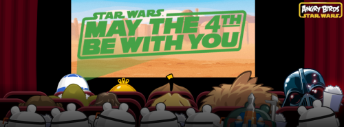 angrybirds:  Happy Star Wars Day!