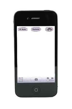 transparent iphone. trust me, it will look sick on your blog xx