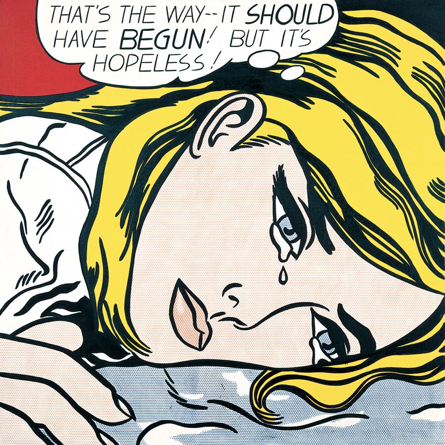 Hopeless, Roy Lichtenstein (1963)