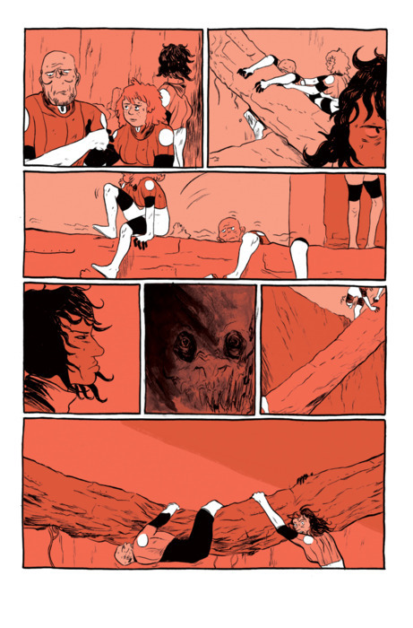 One of the Early Pages of D.O.G.S Of Mars. Back when it was a wittle baby. Isn't that precious?