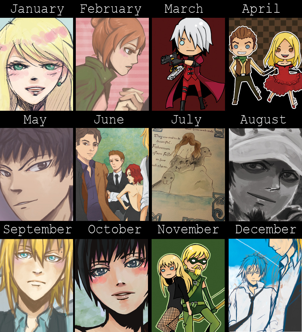 2012 Summary of my Art