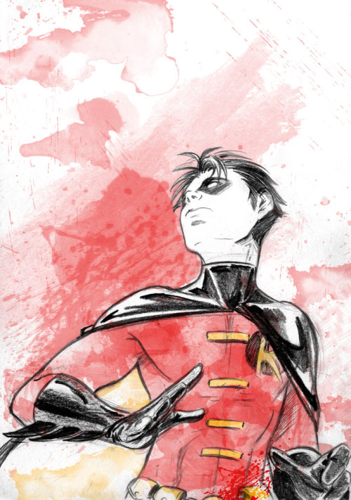 andresisbatman:  Robin Tim sketch by *MGNemesi