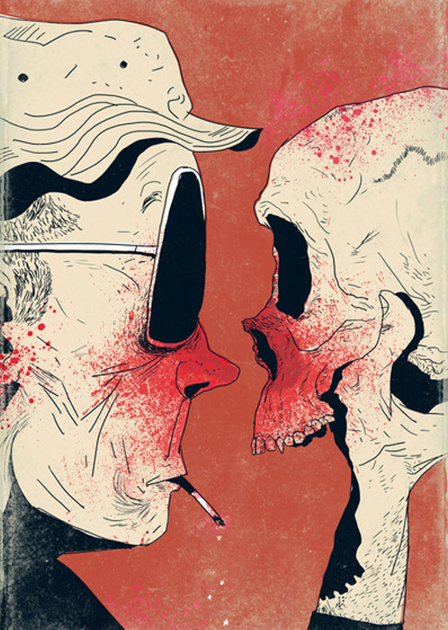 septagonstudios:  Dushan Milic HUNTER S. THOMPSON