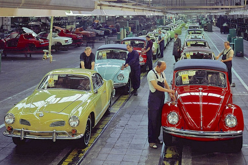Karmann Assembly Line