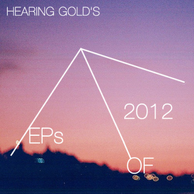 "hearinggold:  HEARING GOLD'S EPs OF 2012 Our EPs of 2012 list is an alphabetical compilation of the 10 EPs that were, and currently still are, our favorites of the year which found themselves on heavy rotation. We like to think this list, albeit not exhaustive or comprehensive, documents the various stages of musical innovation that we've come across throughout the year. These are EPs that we found most enjoyable, memorable, beautiful, heartbreaking, cathartic, and/or simply fun. Check out a selected track from the featured EP by clicking on the cropped album artwork and stay tuned for our forthcoming LPs of 2012 list.   Blessin' - No (self-released 2/21/12) Denton's Blessin' is a dream pop outfit that we've been able to keep tabs with since its inception up until their debut EP release, No, which just dropped a few days ago. This outfit creates a distinct sound all their own where each element in each track seems to consistently reinforce that which embodies Blessin'. The breezy guitar melodies coupled with a distinct laid-back vocal delivery are simple elements that do not seem to be reproducible by none other than Blessin'.  Four Visions - You & Me (self-released 09/26/12) Brooklyn's Four Visions (a.k.a. Daniel Abary) is an act that emits a type of immaculate beauty that is almost inconceivable to the ears. How anyone can construct such stunningly emotive pieces of dream pop as found in You & Me is beyond us. You & Me is a perfect journey through affectivity from start to finish. Four Visions recently took down the album from public streaming and download but we decided it was an album we couldn't leave out mentioning as a highlight for the year.  Glam Shell - Soul & Stardust (self-released 05/04/12) In a vast sea of talented producers and beat makers it becomes increasingly difficult for one single act to distinguish themselves from the rest. Louisville's beat-maker Glam Shell (a.k.a. Drury Graham) on the other hand, readily debunks this statement. The producer released an absolute killer of an EP this year called Soul & Stardust, knocking it out of the park with hard-hitting hip-hop beats, ingenious sample use and brilliant song construction. This is definitely one of the more coherent and refreshing beat albums we've across this year.  Gorgeous Bully - Bullring (self-released 05/02/12) Plymouth's Gorgeous Bully (a.k.a. Thomas Crang) is a project that effectively satiates our thirst for lo-fi fuzz pop. His most recent EP Bullring in particular is a stunning effort in which its raw simplicity and catchy songwriting is its greatest pull.  Imprintafter - Kat Seckz (released by Young Latitudes 08/27/12) LA's imprintafter (a.k.a. Juan Avila) is another beat-maker that caught our attention earlier this year when we helped premiere some of his work. His official EP release Kat Seckz is a collection of beat and sample-driven pieces that are explicitly exuberant in demeanor and one can hardly deny its ability to stand in as an immediate pick-me-up.  Patchwork - Changes (self-released/released by Purr Tapes 09/01/12) Patchwork is Nanaimo's Garrett Lockhart whom we became good friends with over a short span of time after we came across his work. The young producer's debut EP effort Changes is one that showcases an immense amount of potential. The beat work found in the tracks alone are incredibly telling of the producer's seemingly intuitive knack and natural sensibility for beat-driven, electronic production.  Shlohmo - Vacation (released by Friends of Friends 02/07/12) There's no need to introduce the brilliant act that is Shlohmo. The highly acclaimed producer Henry Laufer's streak never ceases to end or impress and his Vacation EP is no exception. There's an exploration of darker realms and moods in this one yet it's still recognizably the skilled hand of Shlohmo. It's no surprise that the talented producer nails every single element in the EP's production either. Heavy rotation is inevitable.  Snacs - Whenever. (self-released 08/06/12) New York's Snacs (a.k.a. Josh Abramovici) is a producer that we've come to admire and be impressed with all the time. Everything the producer touches turns into a gorgeous ambient, sample and beat-driven opus that renders you speechless. His EP Whenever. showcases just a few of the various slick production skills he is equipped with but is nonetheless a very impressive effort from the producer.  Tear Jerker - Hiding (self-released 08/28/12) Toronto-based shoegaze outfit Tear Jerker has been a long-time blog favorite and it only makes sense that their newest EP Hiding would make a memorable impact. Here's yet another 4 tracks of brilliantly emotive songwriting with a distinct vocal styling that truly merits high acclaim.  Yume - Dreamt of U (self-released 11/01/12) Yume, the 17 year-old New York-based producer that whisked us away with his track ""Dreamt of U"" earlier this year gave us much to dream about with the release of his EP of the same title. A delightful excess of dreaminess is at the EP's core and beat production and sample use is ever so cleverly woven together in the soft fabric of each track."