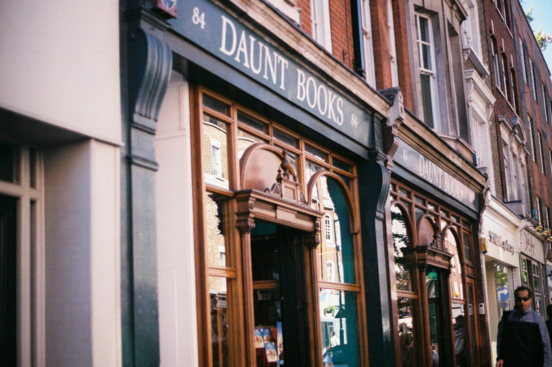 restaurer:  Daunt Books by rockyrelay
