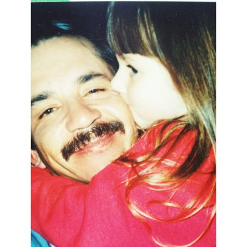 {{I love that my poppy is only a phone call away. Circa 1995}} #touroflove2k13 #fatherandaughter