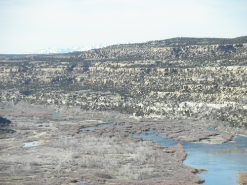 Our beautiful New Mexico  navajo dam