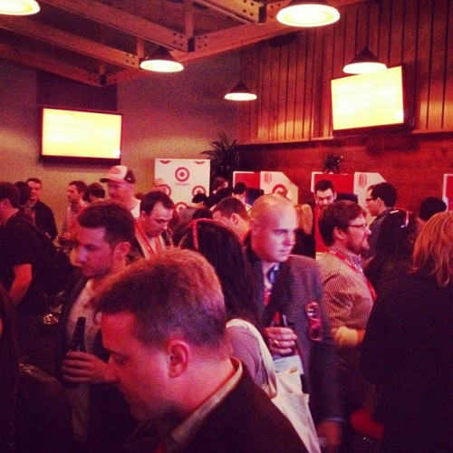 Packed house at the #FCGrill #Tarcade! (at Fast Company Grill)