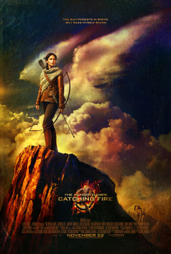 HQ Catching Fire poster (x)
