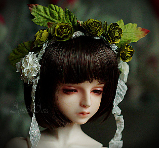 sugaryjoints:  New Hairband by AyuAna on Flickr.