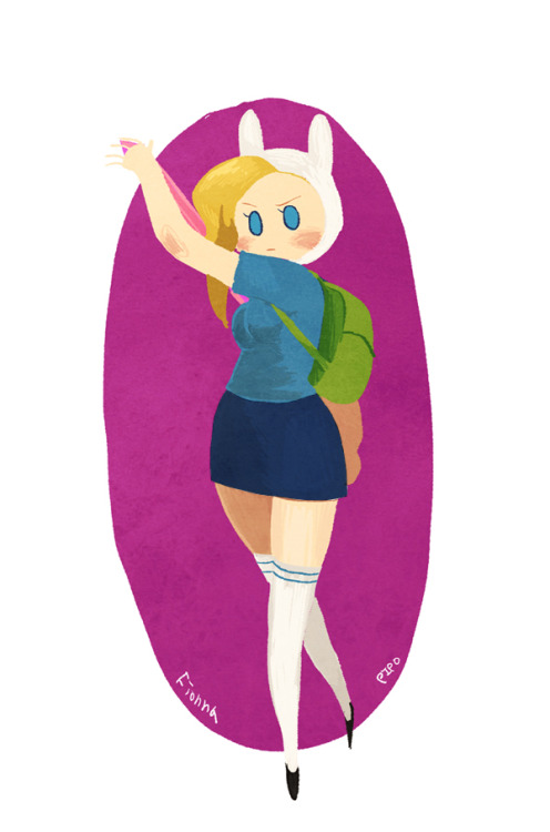 nerdpipo:  fionna the Human