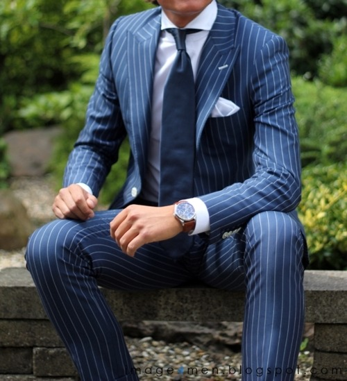 gntstyle:  Pinstripe For all that's style follow: http://gntstyle.netFACEBOOK