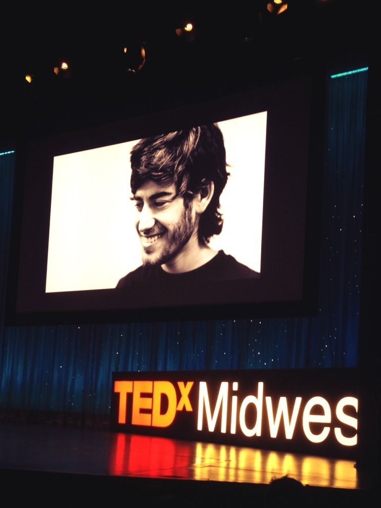 Needless to say, TEDxMidwest's most powerful slide.