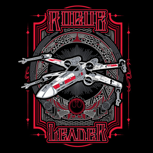 gamefreaksnz:  Rogue Leader by Buzatron Designs on sale 4/9 US $10 for 24 hours only Artist: Redbubble | Facebook | Tumblr  16 hours left!