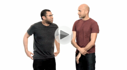 "Improv emphasizes showing over telling, a principle that often manifests in a technique known as ""the invisible game"" on Key & Peele. The central joke of these scenes is ladled out, beat by beat, but never spoken of. ""The audience loves to figure things out,"" says Key, who has extensive professional acting experience and a unique physicality honed by emulating silent masters such as Chaplin and Keaton. ""They love it when a performer leaves a trail of bread crumbs for them, and they get to participate in the comedy."" Innovation through improvisation: How Key & Peele busted the forumla and created something new"