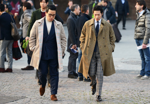 takablotaro:  10 Style Moves to Steal From Pitti Uomo's Best Dressed Men
