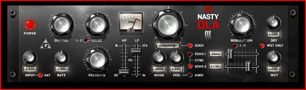 The NastyDLA is a chorus echo VST plugin featuring tape-delay simulation and best of all its free at PluginBoutique.com! Works on Windows. Give it a try and let us know what you think.