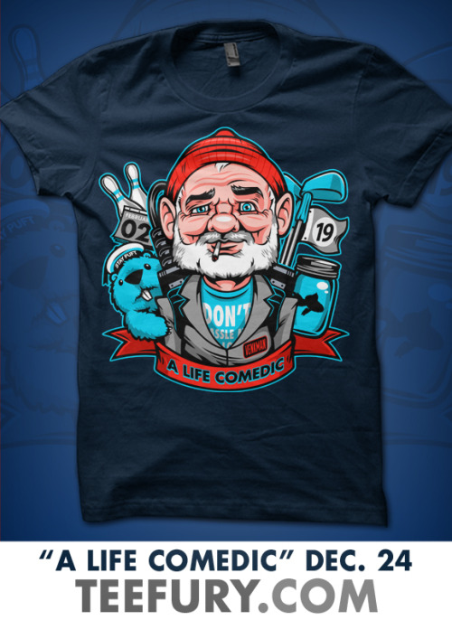 "MURRAY XMAS!!!""A Life Aquatic"" By Harebrained."