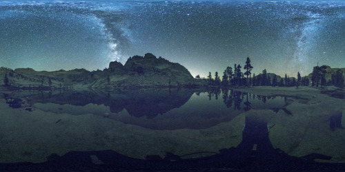 360 Panorama @Pear Lake, Sequoia & Kings Canyon National Park (by chapterthree) This is just an amazing photograph. I can't put into words how much I'm drawn to it, and I don't even know why. Fantastic.