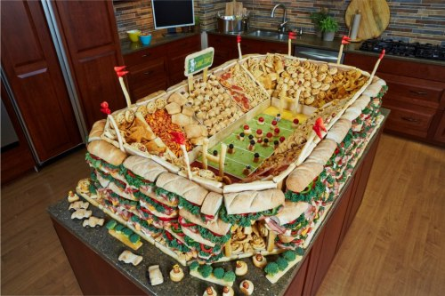 lulz-time:  memewhore: Just a few snacks for the Superbowl, nbd.  My lovely followers, please follow this blog immediately!