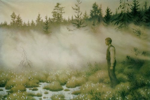 The Fairy that Disappeared - Theodor Kittelsen