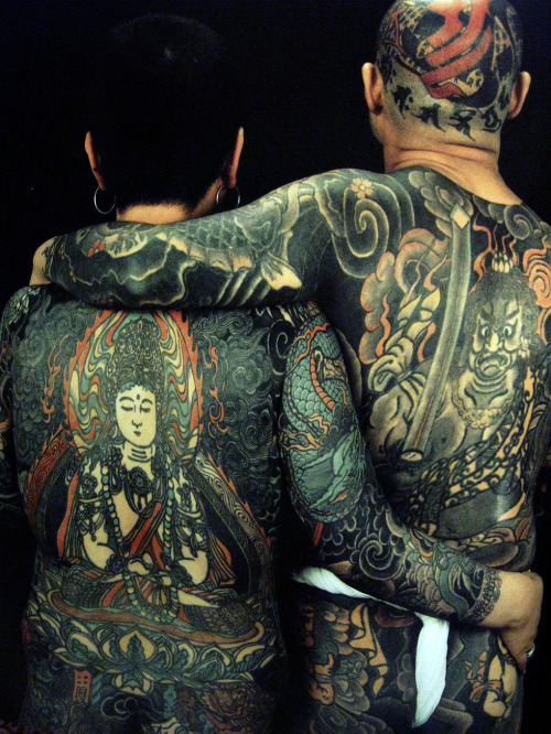 dirtyscarab:  Scan from The Japanese Tattoo Horiyoshi III