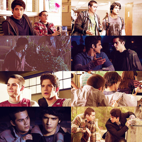 "ultimate fangirl challenge ~ 4/5 friendships: scott + stiles (teen wolf)""You've still got me!"""