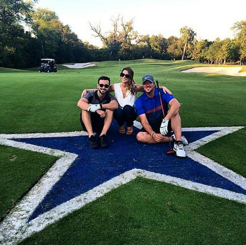 Dallas week-end for Ashley & Paul