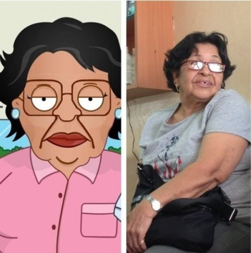 "Consuela From Family Guy IRL ""Ah, nooo, nooo. Thas not me. Ah nooo."""