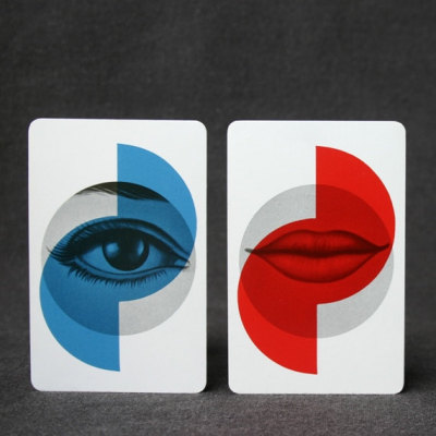 rmgdesign:  Vintage playing cards (via The lips and the eye Vintage playing cards by MademoiselleChipotte)