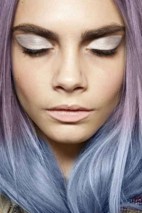 lavender locks are so GORGEOUS!
