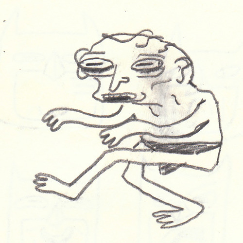 i drew a gollum and i wanted to share it with you guys